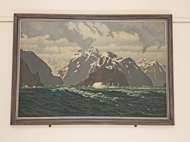 THE NORWEGIAN COAST: SPRING 1940. IWM catalogue reference Art.IWM ART LD 662. More details can be found at http://www.iwm.org.uk/collections/item/object/21428.